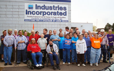 A big group of Industries, Inc. clients.