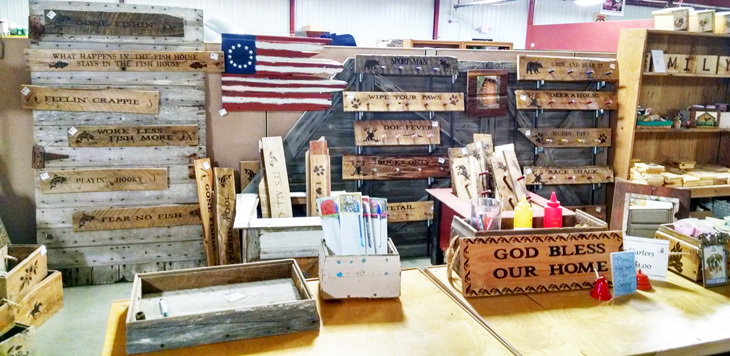 Industries, Inc. makes a wide variety of barn wood products.